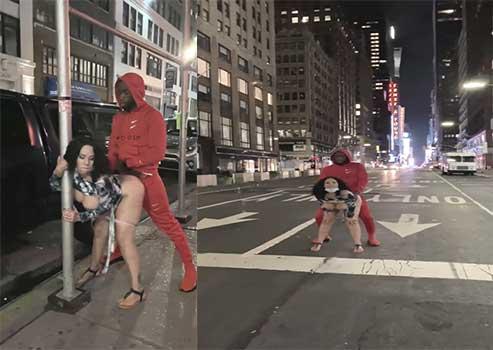Sex Video: Queen Rogue Street Sex